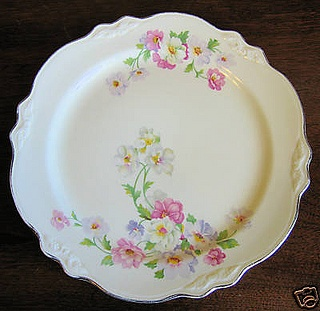 Homer Laughlin Virginia Rose...My Great-Grandma's dishes...gorgeous in my china cabinet!!!!