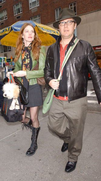 James Spader & his girlfriend Leslie Stefanson