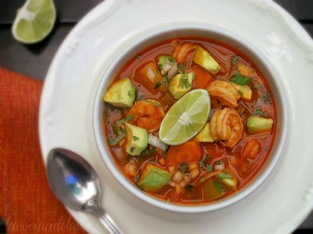 Caldo De Camaron RECIPES | Caldo de Camarón (Mexican Shrimp Soup) #WeekdaySupper