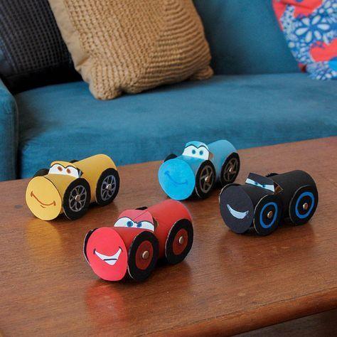 Cars 3 Cardboard Craft For This #DisneyWeekend