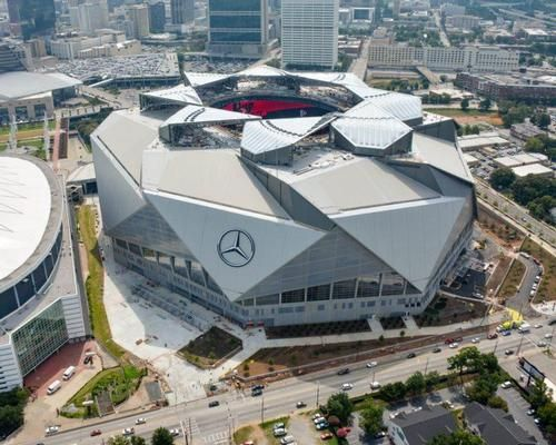 HOK's Mercedes Benz Stadium hosts first fixture