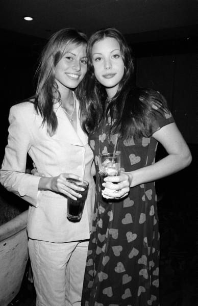 Niki Taylor and Liv Tyler, 1993