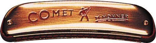 Hohner 2504 Comet Harmonica, Minor C by Hohner. $91.37. Similar to its sister harmonica, the tremolo, octave harmonicas are also double reed instruments. The bottom row of holes features the same notes as the top row, with reeds tuned exactly one octave apart. This enables a solo player to get a stronger, richer bodied sound than with a single reed harmonica. Octave models are popular in Cajun, Old Time, Celtic, and Traditional music.