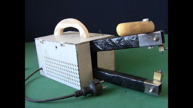 How to make Mini Spot Welder Using old Microwave Transformer DIY