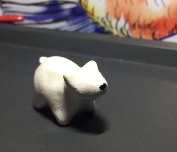 Polar Bear Totem Animal by IcyBubbleCreations on Etsy