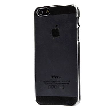 caso duro ultra fino transparente para el iphone 5/5s – USD $ 1.99