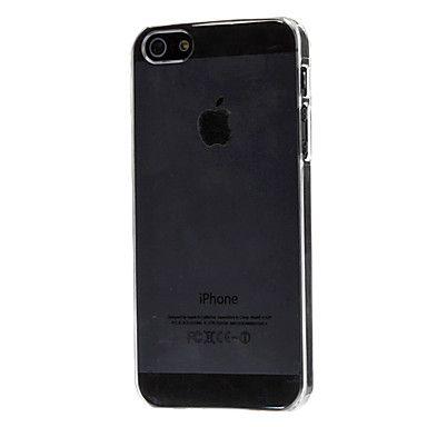 caso duro ultra fino transparente para el iphone 5/5s – USD $ 1.99