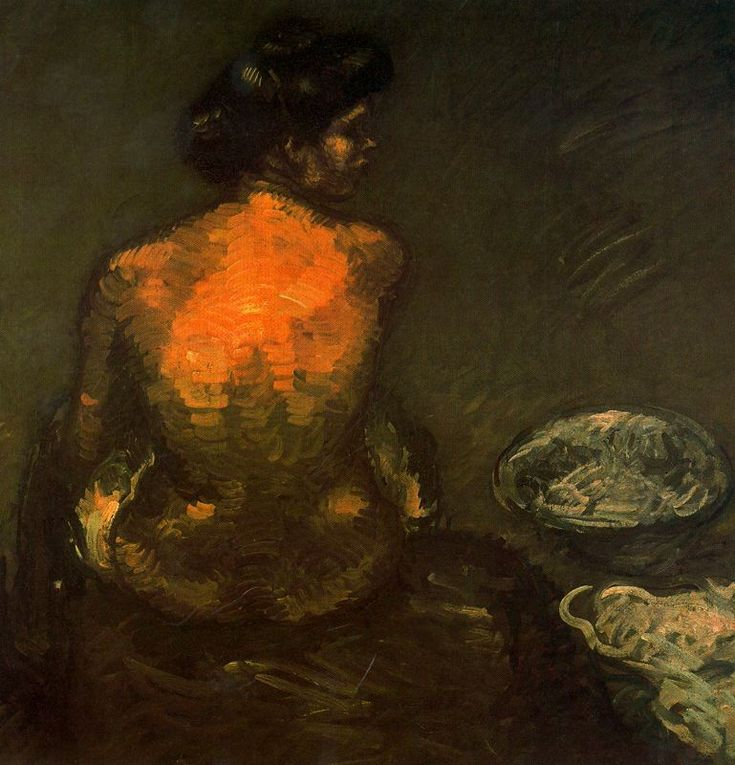 lilithsplace:'Nude Study', 1907 - Isidro Nonell y Monturiol (1873–1911)