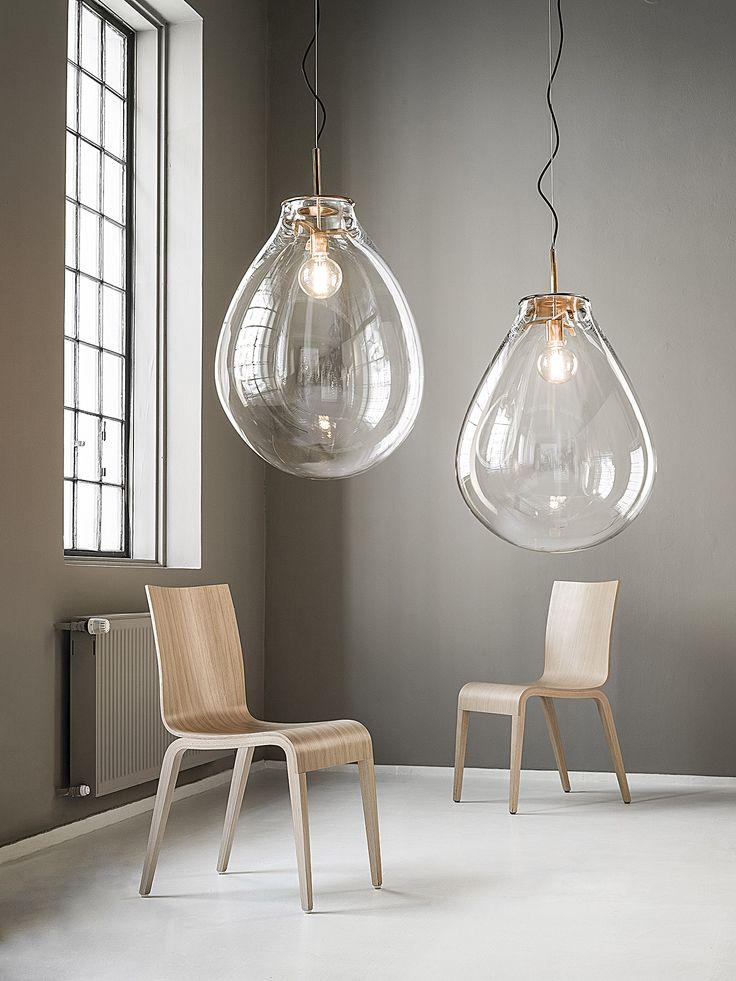 Необычные подвесные светильники в интерьере