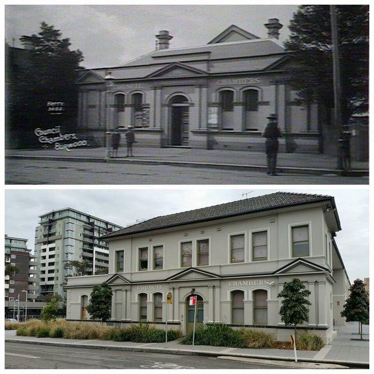 Burwood Council Chambers, Condor St Burwood c1890 > 2016. [State Library of NSW > Allan Hawley. By Allan Hawley]]
