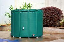 1000L dobrável do tanque de água de chuva de ligar água chuva colheita recipiente PVC tambor de chuva compressível