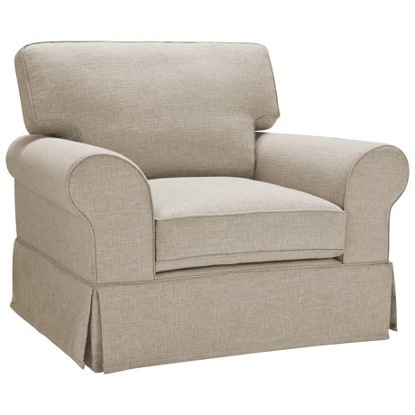 Greenwich Armchair (Skirted) | Freedom Furniture and Homewares
