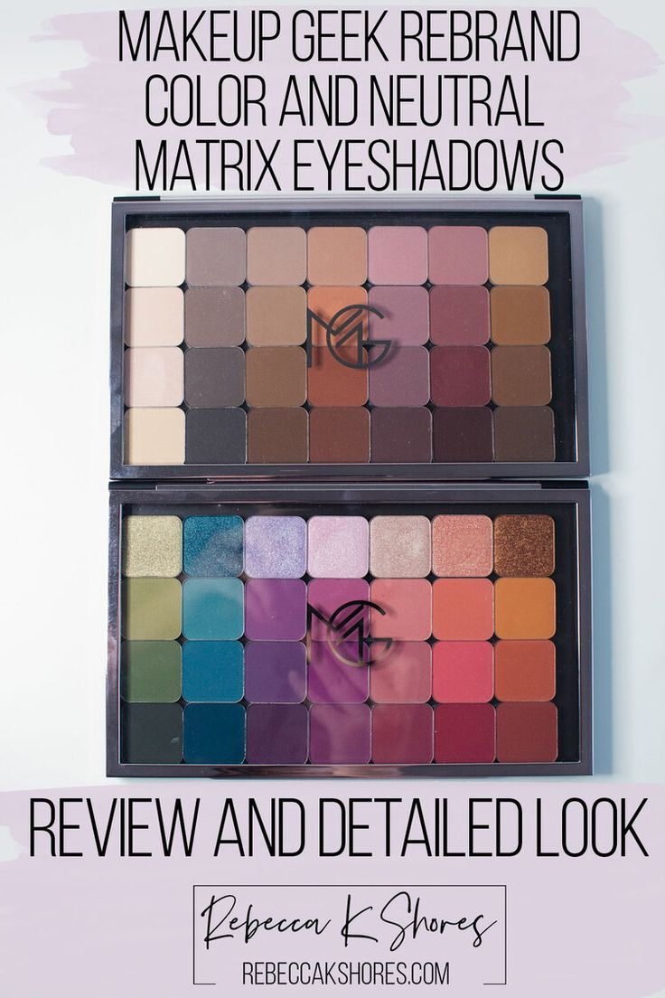 Makeup Geek New Eye Shadow Relaunch True Colors Review