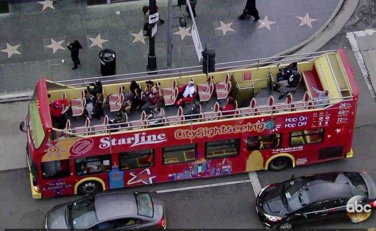 Туристов экскурсионного автобуса разыграли на церемонии Оскар 2017 (видео)