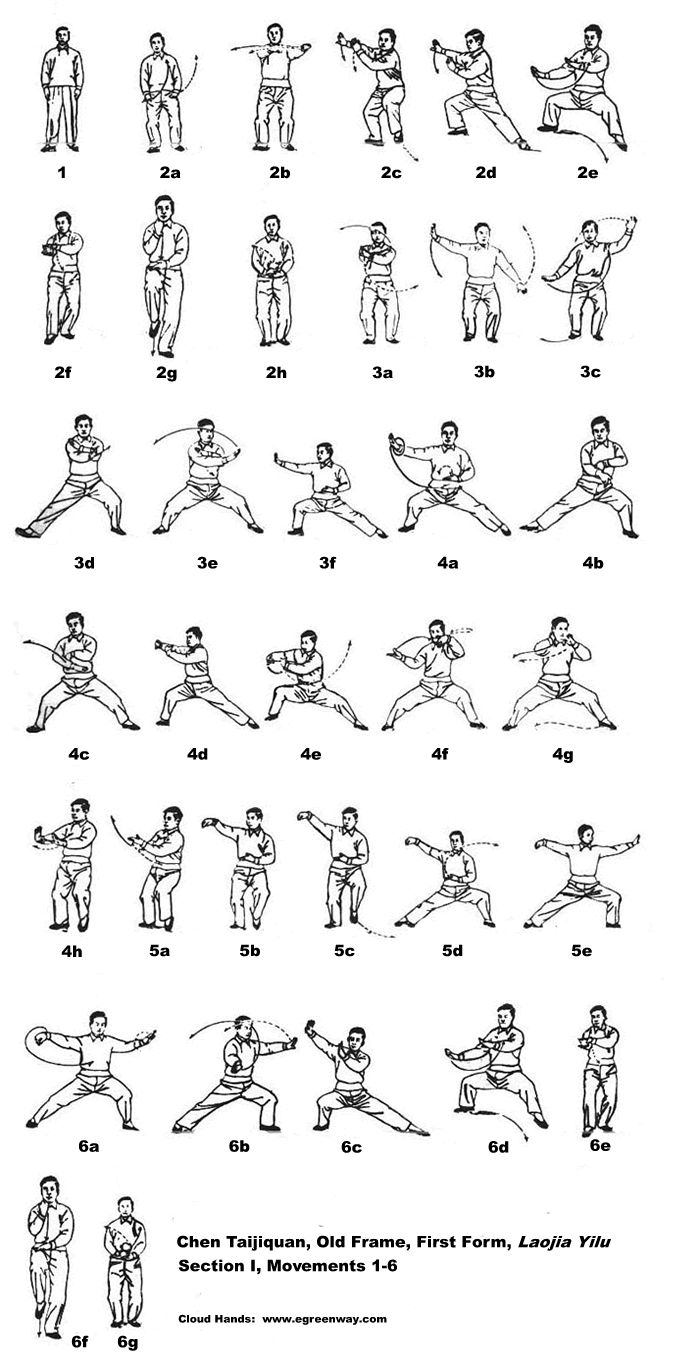 Chen style Tai Chi with its 38-form: