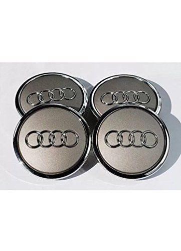 OEM Lot de 4 enjoliveurs Audi 69mm Gris: Description: Set de 4capuchons de cache-moyeu Moyeu compatible avec Audi compatible avec la…