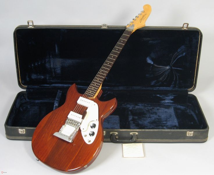 1971 Micro-Frets Signature Walnut > Guitars : Electric Semi-Hollow Body - Nationwide Guitars