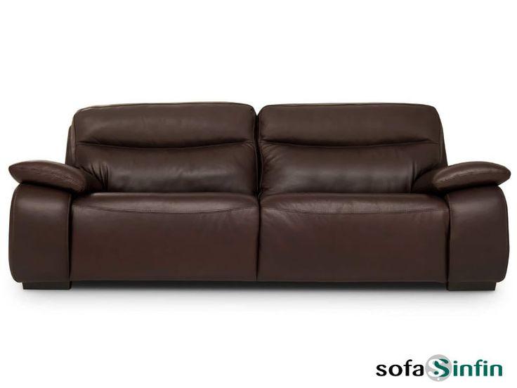 Sofá moderno de 3 y 2 plazas modelo Rubi fabricado por Losbu en Sofassinfin.es