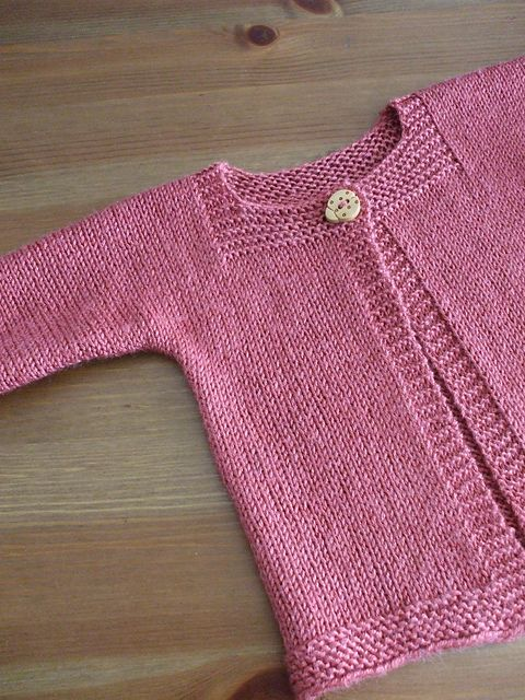 casaco em tricot para criança