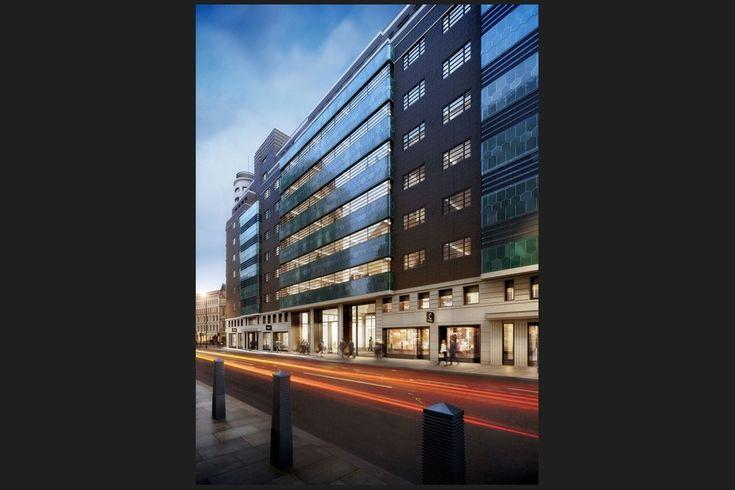 One New Oxford Street London, Commonwealth House, Green Pyrolave UK Bricks/Tiles