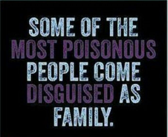 "Some of the most poisonous people come disguised as ""family."" Family isn't always blood. It's the people in your life who want you in theirs. The ones who accept you for who you are. The ones who would do anything to see you smile, and who love you no matter what."