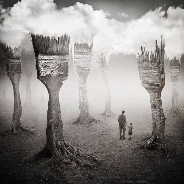 Best Surreal Images On Pinterest Abstract Art Abstract - Photographer uses photoshop to create surreal dreamy composite images