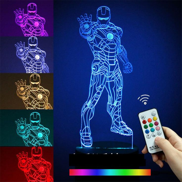 Novelty 3D Desk Lamp Night Lights Star Wars Iron Man Bedside Nightlight Luminaire Lava Lamp 7 Colors Abajur Para For Bady Lamps. Yesterday's price: US $27.90 (22.96 EUR). Today's price: US $13.11 (10.79 EUR). Discount: 53%.
