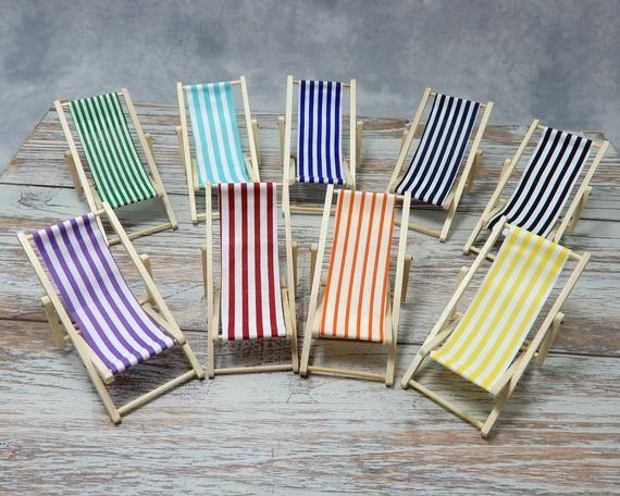 Beach Dreams Miniature Folding Wood Beach Chair Beach Chairs