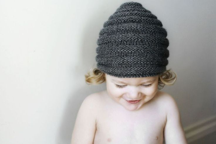 Beehive Beanie - free knitting pattern