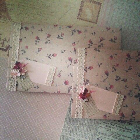 Snailmail mapjes /grote papieren enveloppen