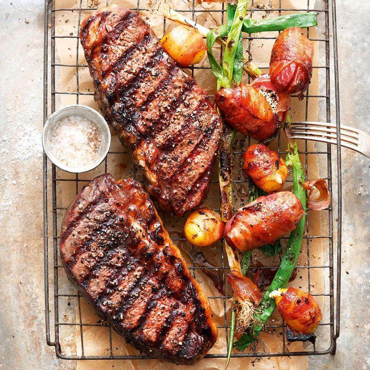 Grillen: Fleisch, Geflügel, Fisch