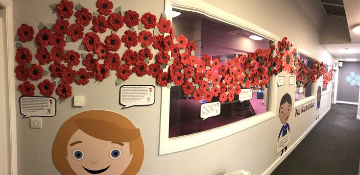 Remembrance Day Whole School Display Every Child From