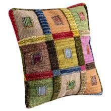Contemporary Cushion in Multicolor