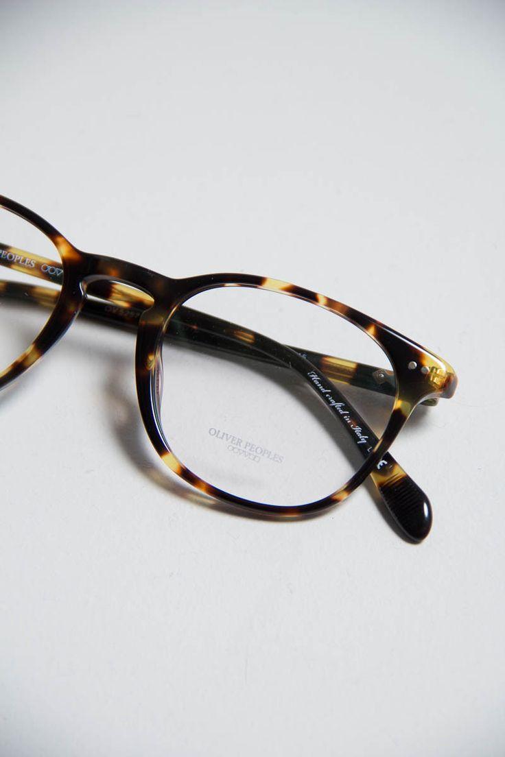 Oliver Peoples | Sir Finley Optical Frame | Dark Brown Tortoise www.thebureaubelfast.com