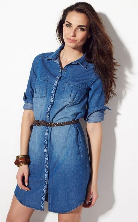 Chemise robe femme