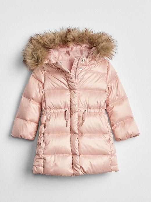 719f60d2c Gap Baby Coldcontrol Max Long Puffer Jacket Pink | Fashionable ...