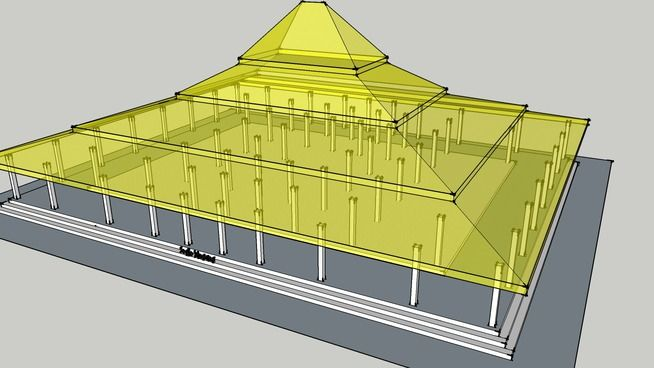 Rumah Jawa - Joglo Hageng - 3D Warehouse