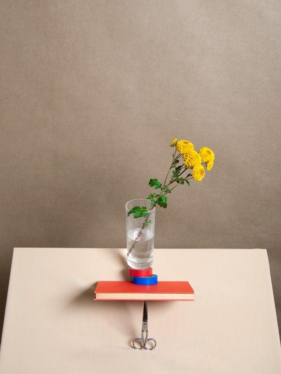 Flower in vase by Csilla Klenyánszki