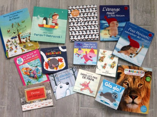 || Table des saisons : L'hiver - Sélection de livres