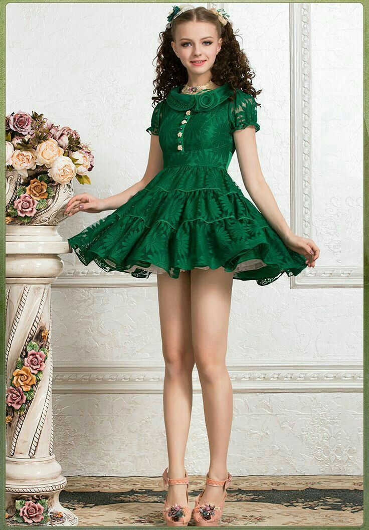What A Cute Dress For A Tween Perfect Length For A Sexy -7851