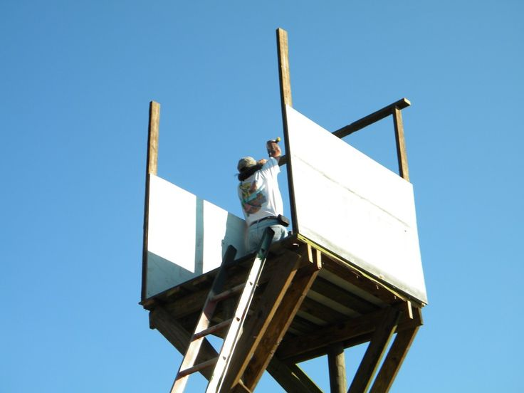 How To Build A Free-Standing Deer Hunting Blind or Stand In The Best Location