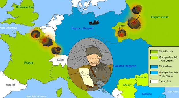 La Première guerre mondiale expliquée aux enfants - 1jour1actu - L'actu pour tous les enfants !
