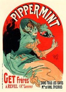 Pippermint. Jules Cheret cartel