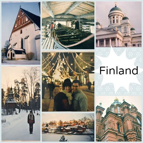 Finland Collage Photos- Kid World Citizen