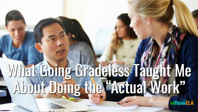 The Revelation When I entered the teaching profession in 1998, I envisioned myself building relationships with students, discussing the intricacies of stories, and inspiring students to explore lit…
