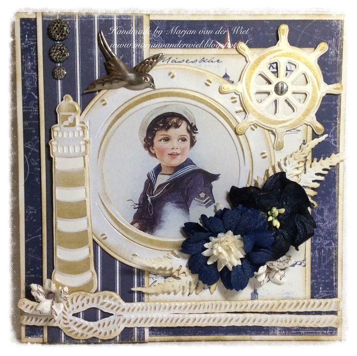 Gerda's Hobbyshop: Prachtige Demokaarten van Marjan van der Wiel