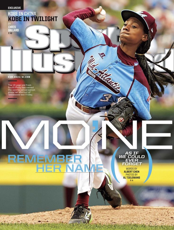 Mo'ne Davis, star of the Little League World Series, makes history gracing the newest issue of Sports Illustrated.