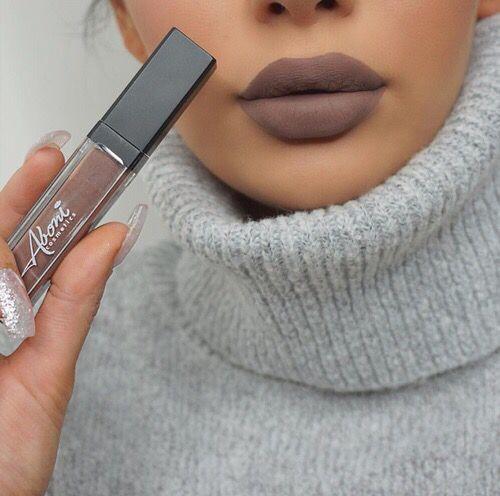 Aboni Cosmetics matte #lipstick in shade 'Kiss & tell'