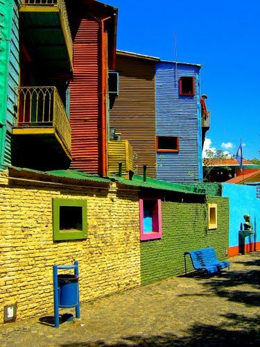 Caminito, La Boca, Buenos Aires Argentina http://www.argentinaexchange.com/