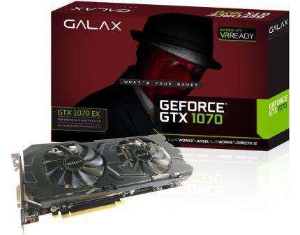 [SARAIVA] Placa de Vídeo Galax GeForce Gtx 1070 Ex - 8Gb Ddr5 256 Bits - R$ 1553,25